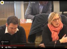 Tine van der Vloet commissie wonen