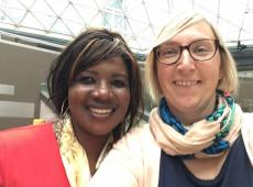 Duodag 2018 duo Marie Mabutese, Tine van der Vloet