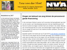 nieuwsbrief_23 Tine van der Vloet