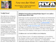 nieuwsbrief 37 Tine van der Vloet
