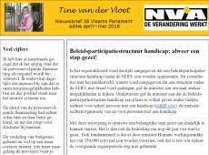 nieuwsbrief 38 Tine van der Vloet