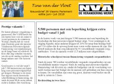 nieuwsbrief 39 Tine van der Vloet