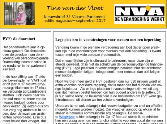 nieuwsbrief 32 Tine van der Vloet