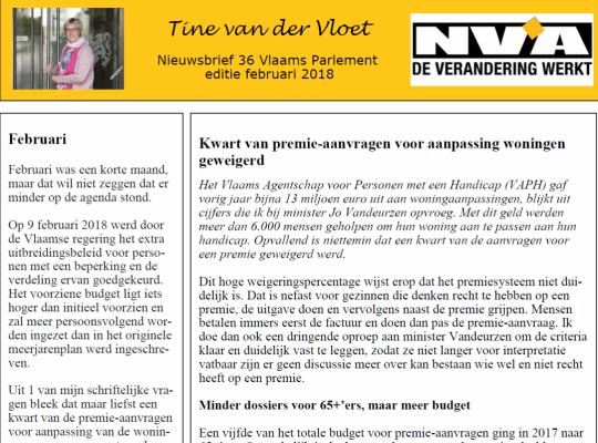 nieuwsbrief 36 Tine van der Vloet